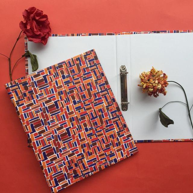 Tinted Lines Big Folder