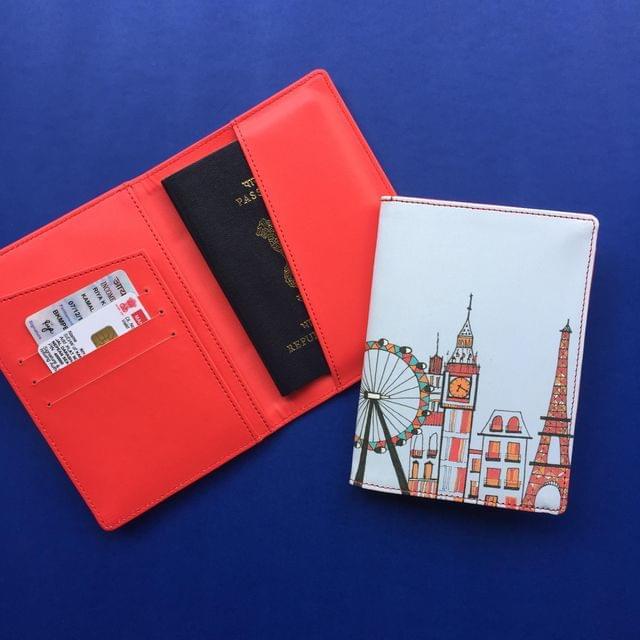 London-Paris-New York Skyline