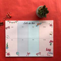 Endless Love Weekly Planner