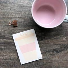 Latte to do list Mini Notepad