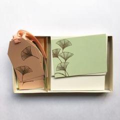 Ginko Notecard & Gift Tag Set