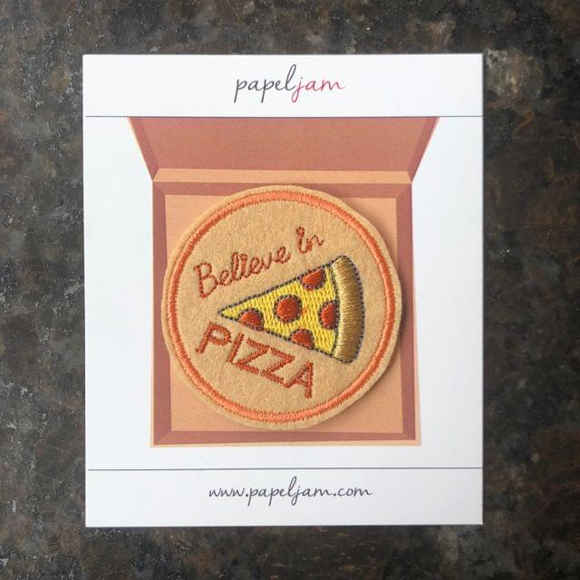 Believe in Pizza Patch