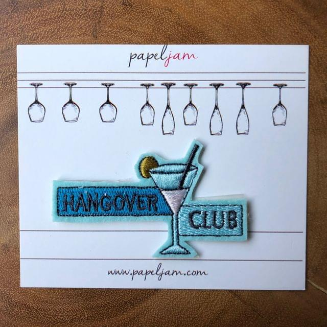 Hangover Club Patch