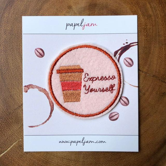 Expresso Yourself Coffee Patch