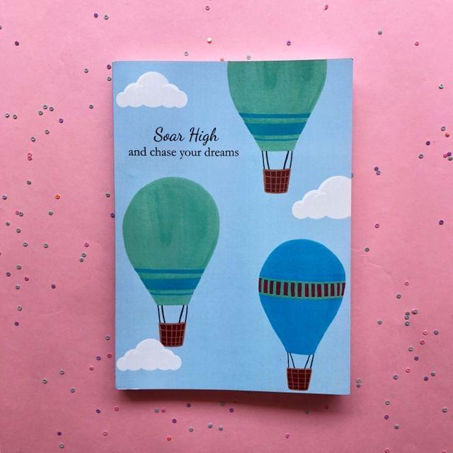 Notebook-Hot Air Balloons