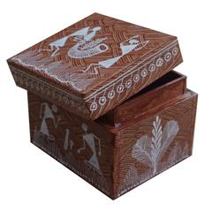 Wooden Box With Top Open Cover-Small-WF11