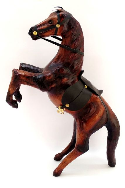 Leather Craft of Indore-Jumping Horse