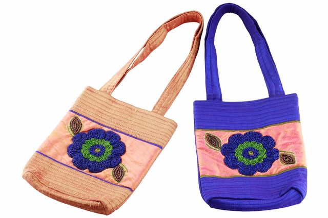 Embroidered Handcrafted Evening Purse (JS165) -VIVEKA