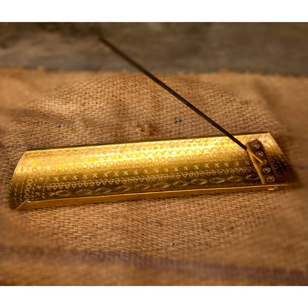 Hand Crafted Brass Agarbatti stand