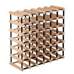 Timber Wine Rack 42 Bottles