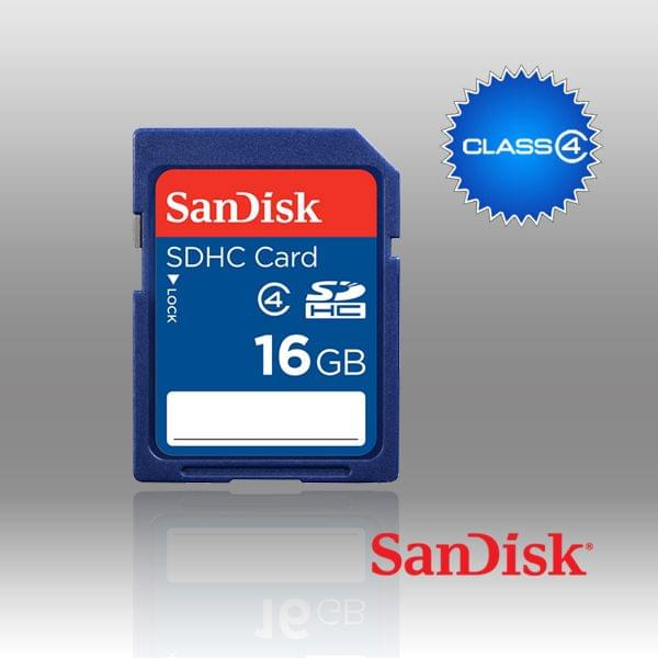 SANDISK SDHC SDB 16GB CLASS 4