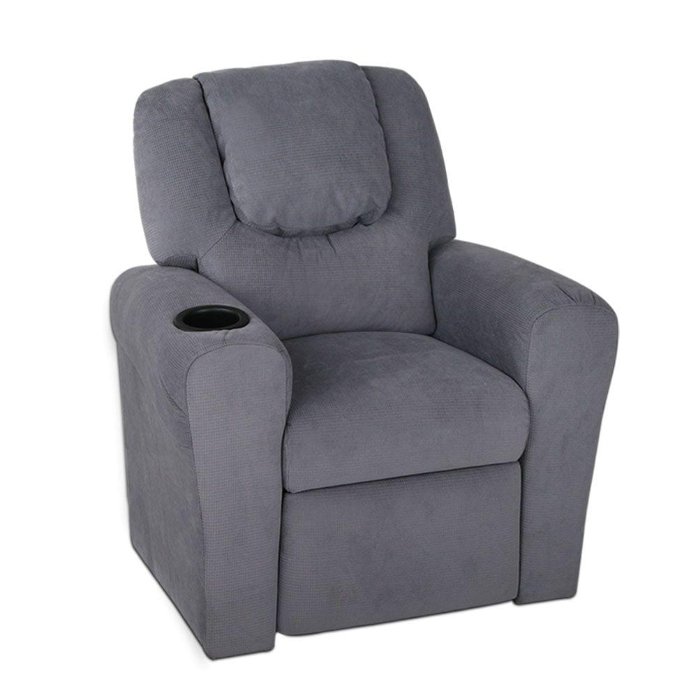 Kids Recliner - Grey