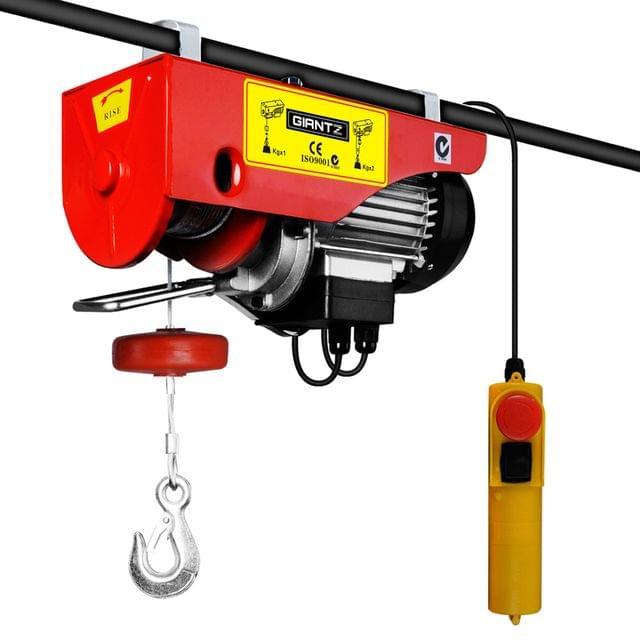 400/800kg 1300W Electric Hoist Winch