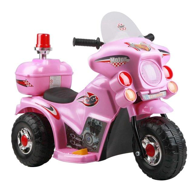 Kids Ride on Motorbike-Pink