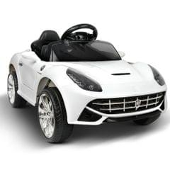 Kids Ride on Sport Car White