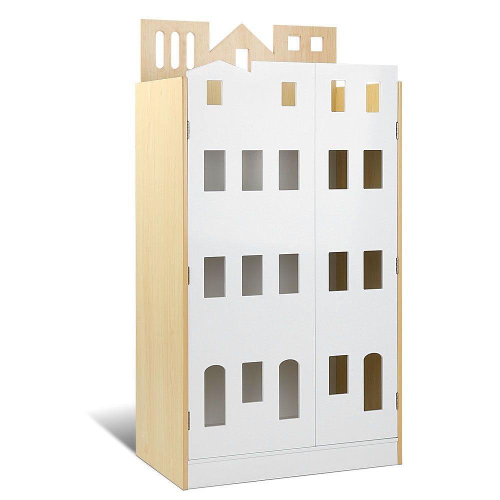 Kids Castle Design Bookshelf White