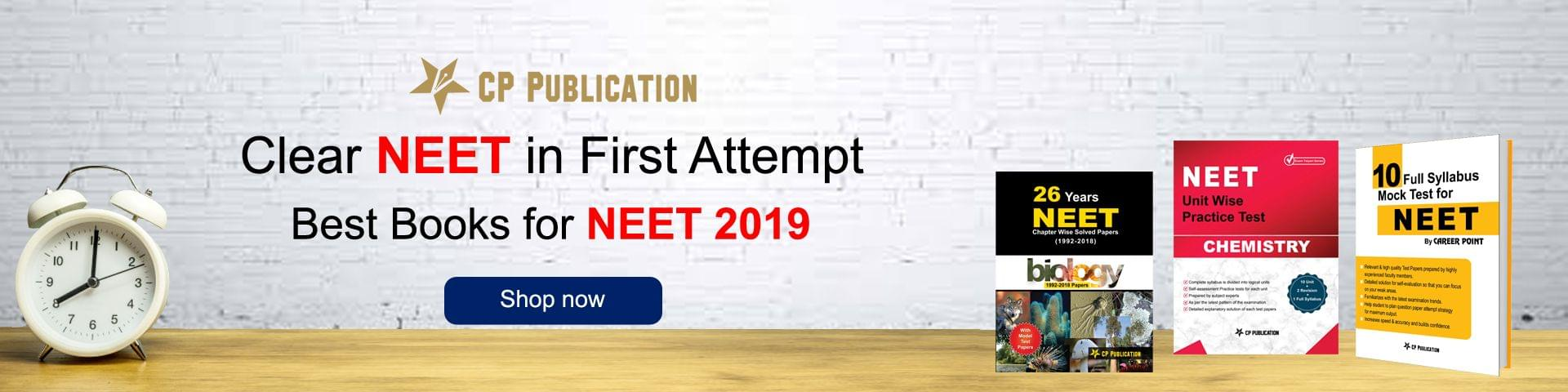 Best Books for NEET 2019