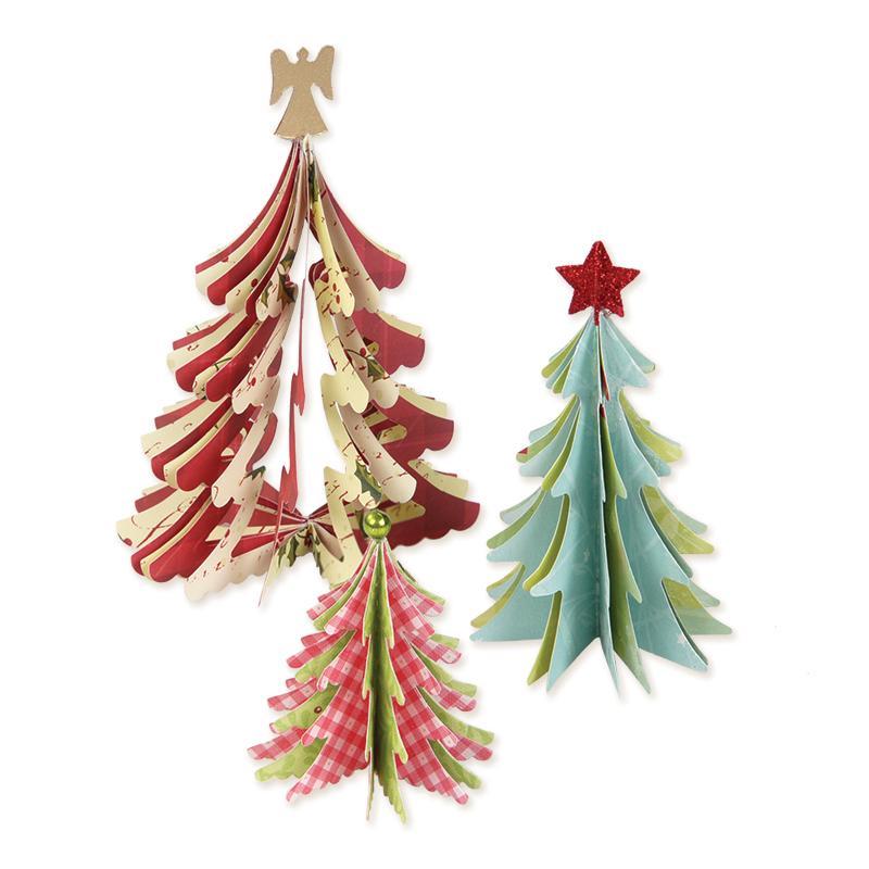 Sizzix Bigz Die - Christmas Trees, 3-D - 658754