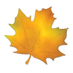 Sizzix Bigz Die - Leaf, Maple - A10162