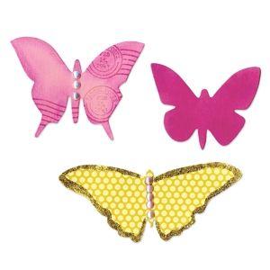 Sizzix Bigz Die - Butterflies #4 - A11003