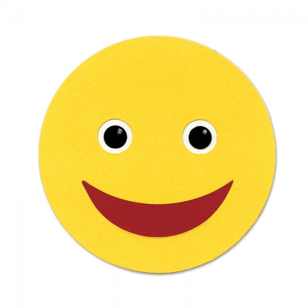 Sizzix Bigz Die - Happy Face - A10335
