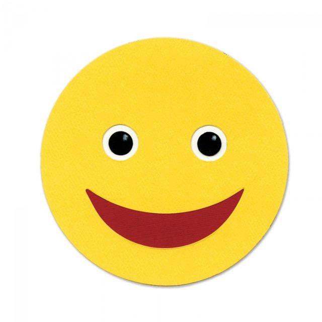 Sizzix Bigz Die - Happy Face - A10335