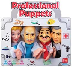 Professional #3 - Large Hand Puppets  (Pack of 4)