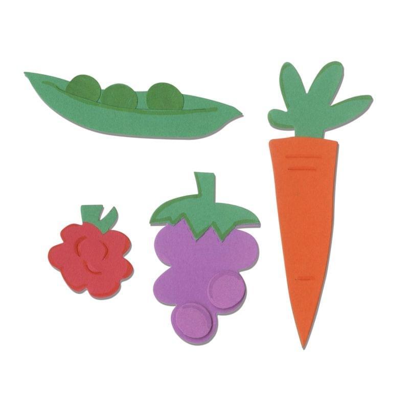 Sizzix Bigz Die - Food : Fruits & Veggies - A11101