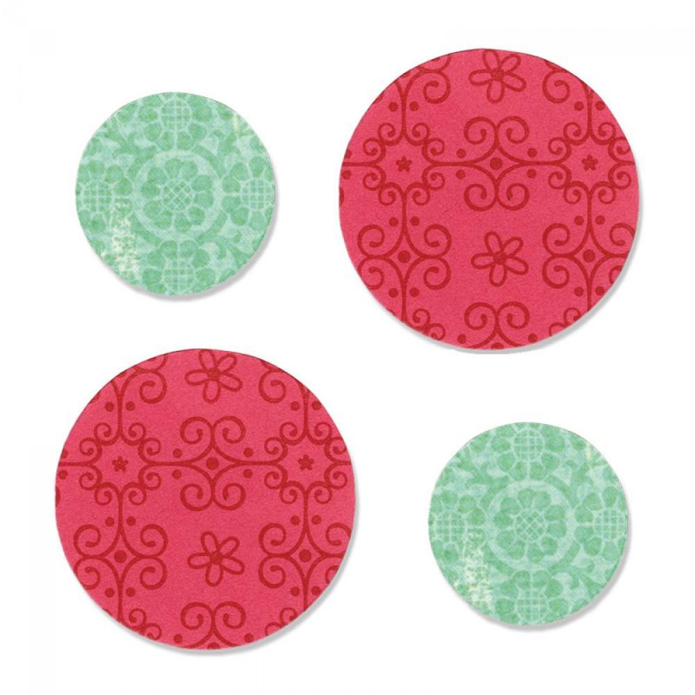 "Sizzix Bigz Die - Circles 1"" & 1 1/2"" - A10212"