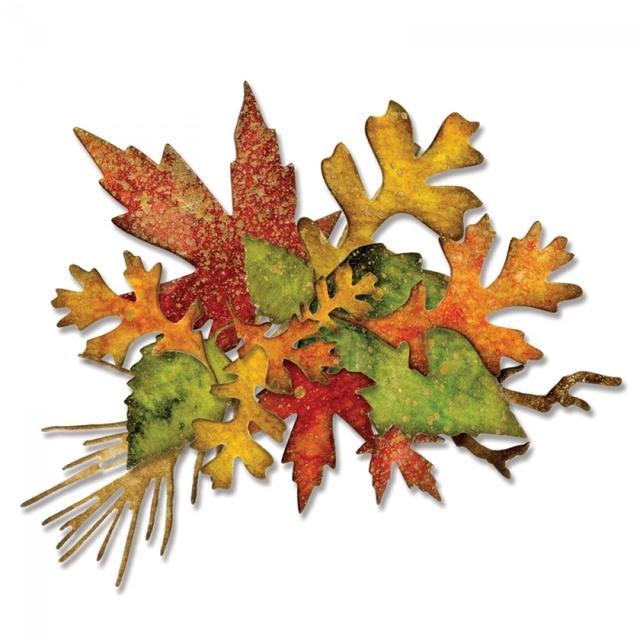 Sizzix Thinlits Die Set 14PK - Fall Foliage - 660955