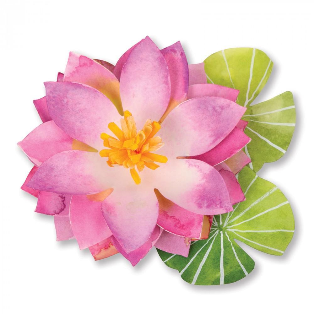 Sizzix Bigz Die - Lotus Item - 659245
