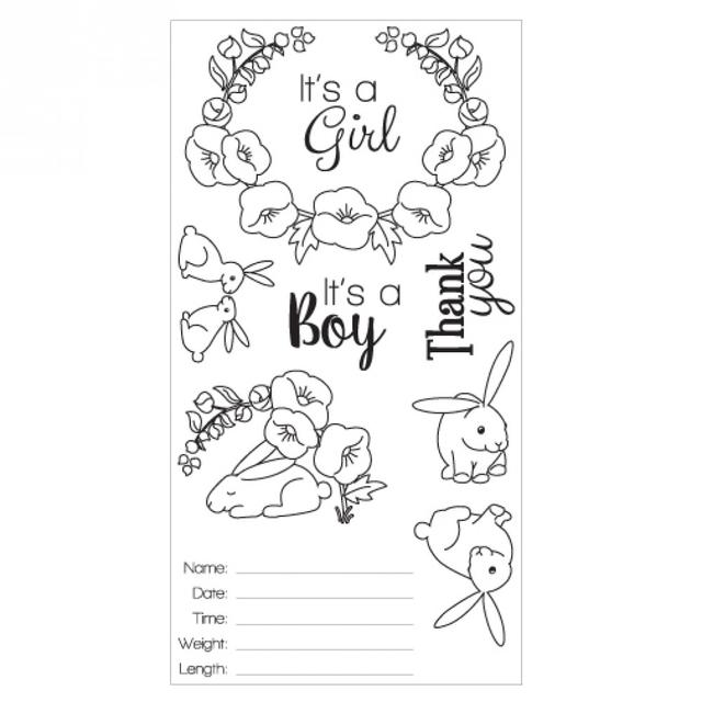 Sizzix Clear Stamps - Sweet Baby Item -  660639