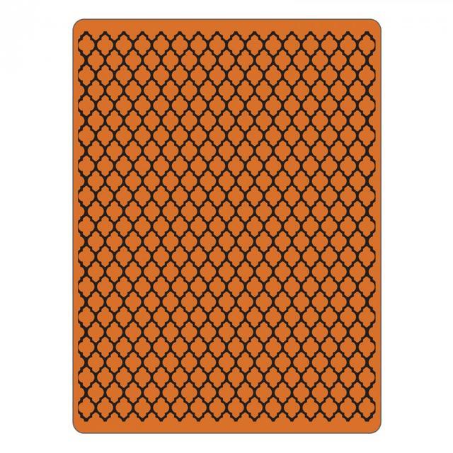 Sizzix Texture Fades Embossing Folder - Trellis Item - 661369