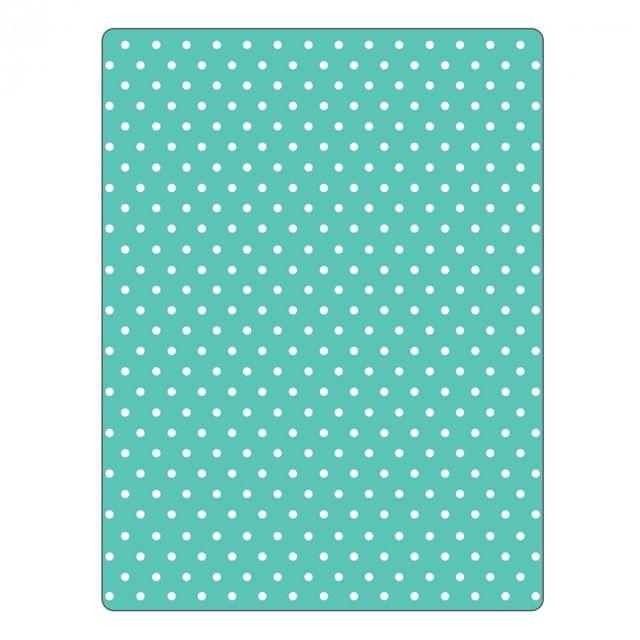 Sizzix Textured Impressions Embossing Folder - Dots - 661353