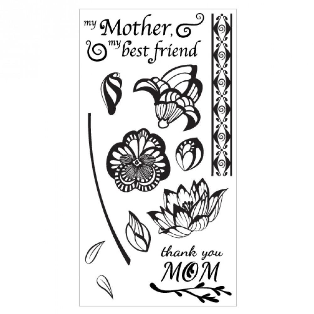 Sizzix Clear Stamps - Mom - 660637
