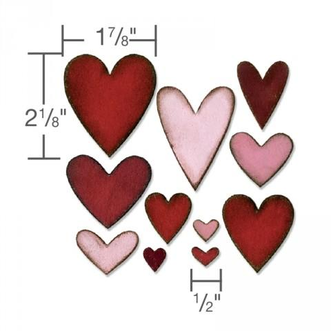 Sizzix Bigz Die - Heartfelt - 660233