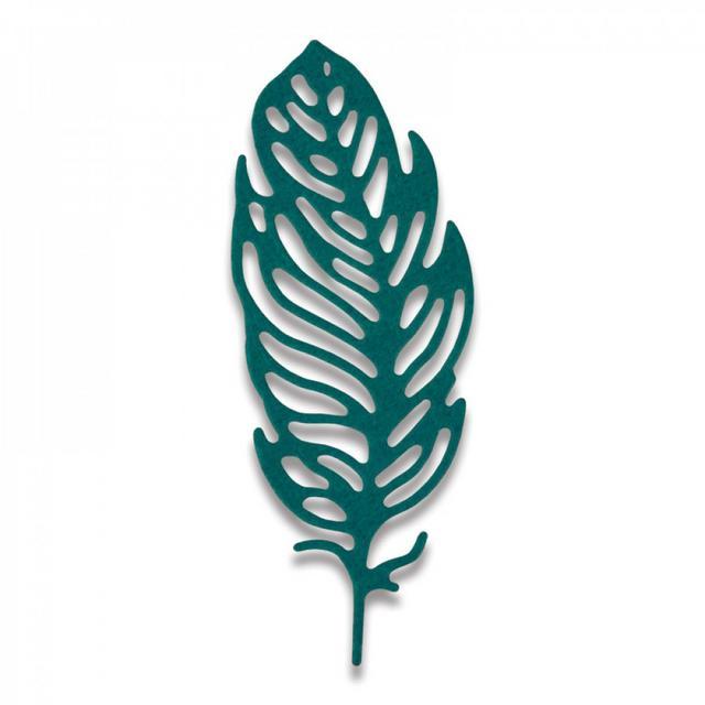 sizzix Thinlits Die - Little Feather Mini-661791