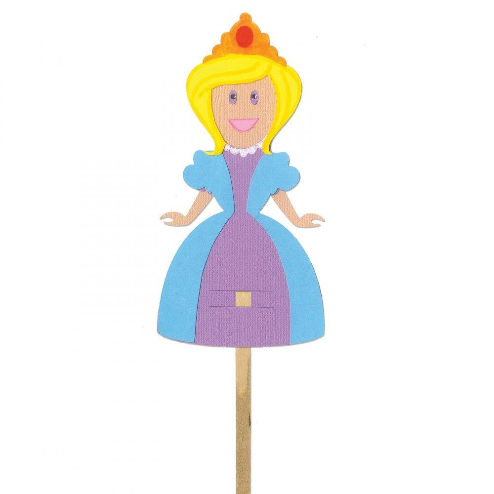 Sizzix Bigz Die - Puppet, Princess - A11185