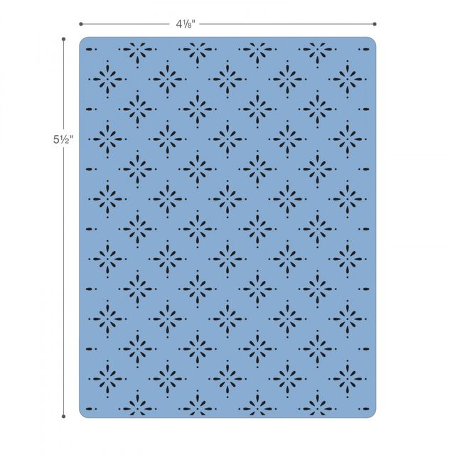 Sizzix Textured Impressions Embossing Folders 3PK -661496