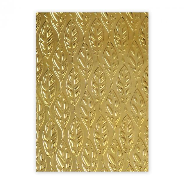 Sizzix 3-D Textured Impressions Embossing Folder - Feathers- 661257