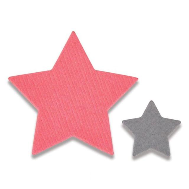 Sizzix Framelits Die Set 2PK - Tiny Stars Mini - 661782