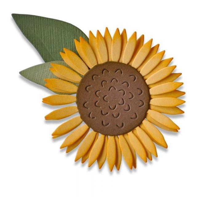 Sizzix Thinlits Die Set 4PK - Sunflower - 662508
