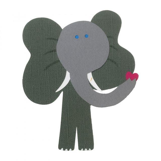 Sizzix Bigz Die - Elephant #4 Item - A11272