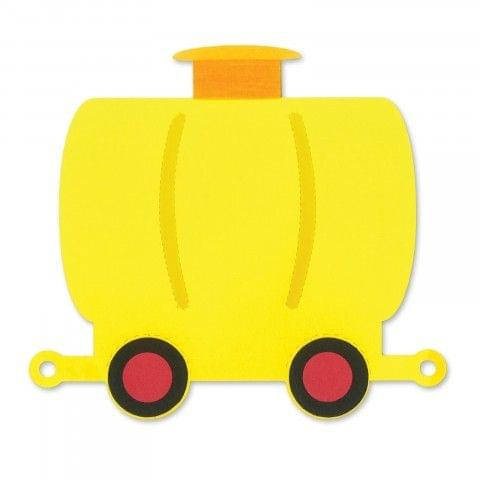 Save   Sizzix Bigz Die - Train Tank Car #2 Item - A11227