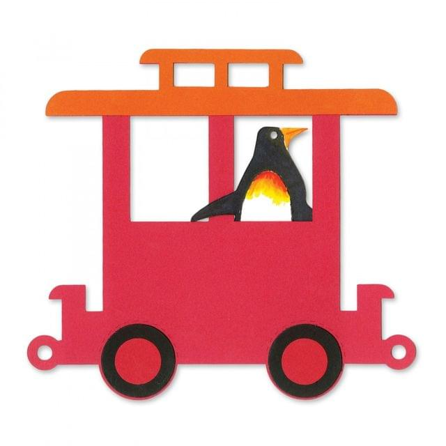 Sizzix Bigz Die - Train Caboose #2 Item - A11226