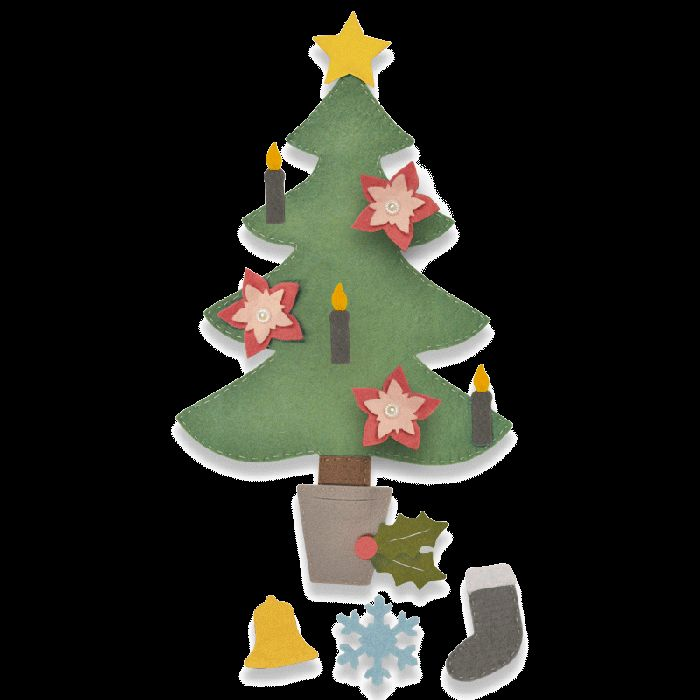 Sizzix Bigz Plus Die - Christmas Tree #2 Item - 662969