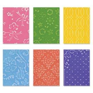 Sizzix Texturz Texture Plates - Kit # 9 Item - 655423