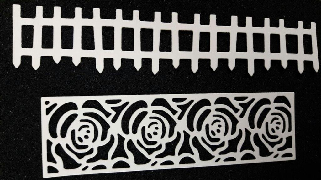 Border Rose, Fence - 2 Pk - CPMD014
