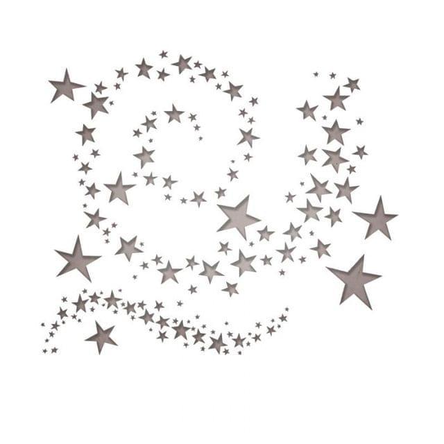 Sizzix Thinlits Die Set 9PK - Swirling Stars- 663095