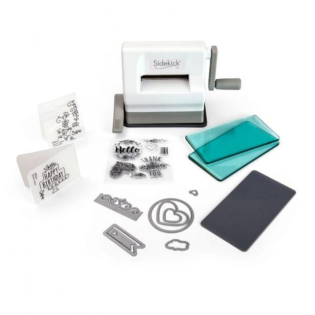 Sizzix Sidekick Starter Kit (White & Gray) 661770